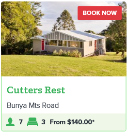 BUNYA MOUNTAINS - CUTTERS REST