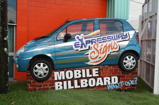 WE DO VEHICLE WRAPS - EXPRESSWAY SIGNS AND PRINTWORKS