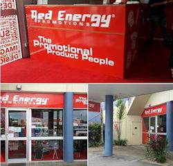 EXPRESSWAY SIGNS RED ENERGY