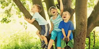 KIDS WHO PLAY OUTSIDE